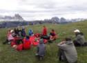 Jugend auf dem Gipfel