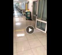 Wasser-Alarm im Spital