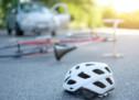 Sturz mit dem Fahrrad