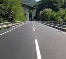 Sanierte Brücke