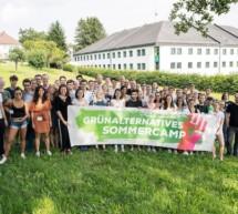 Grünes Sommercamp