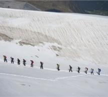 Schule am Gletscher