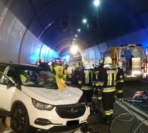 Tödlicher Unfall im Tunnel