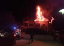 Brand in Dachstuhlwohnung
