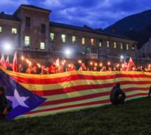 Fackelzug für Katalonien