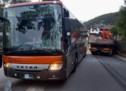 Bus vs. Lkw