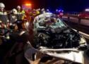 Schwerer Unfall auf der Autobahn