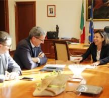 Treffen mit Ministerin