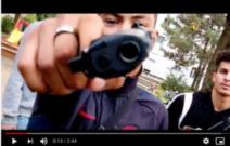 Die Knarre im Video