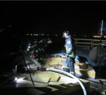Dachbrand in Bozen