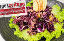 Herbstlicher Blaukrautsalat