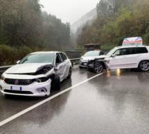 Crash auf Grödner Straße