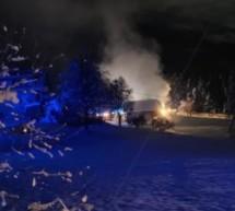 Wohnhaus in Brand