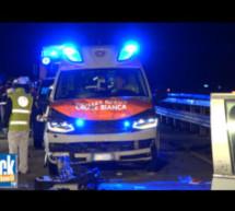 Crash mit Rettungswagen