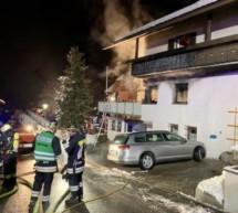 Brand im Zweifamilienhaus