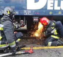 Feueralarm am Bahnhof