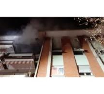 Wohnung völlig ausgebrannt