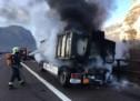 Brand auf der A22