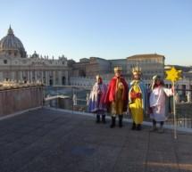 Sternsinger in Rom