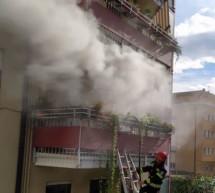 Küchenbrand in Bozen