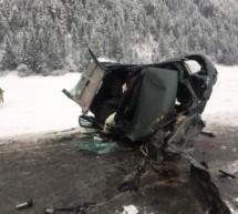 Drei Ultner bei Unfall verletzt