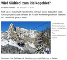 """""""Wird Südtirol zum Risikogebiet?"""""""