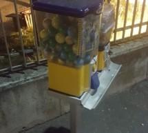 Gestohlener Automat