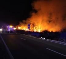 Brandstifter in Prad
