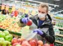 Handelstreibende in Aufruhr
