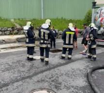 Unfall in Biogasanlage