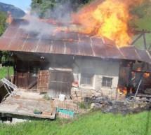 Flammen in Ulten
