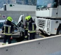 Schwerer Unfall in Salurn