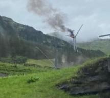 Das brennende Windrad