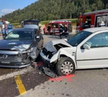 Crash am Kniepass