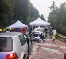 Crash in Vöran