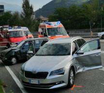 Crash an der Kreuzung