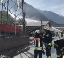 Großbrand in Latsch