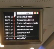 Die Achse Bozen-Wien