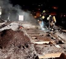 Großbrand in Partschins