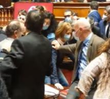 Tumult im Senat