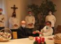 Bäcker beim Bischof
