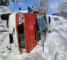 Unfall mit Feuerwehrauto