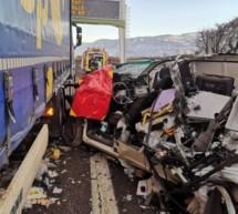Tödlicher Unfall auf der A22