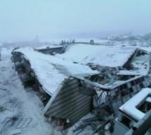 Eishalle in Sterzing eingestürzt
