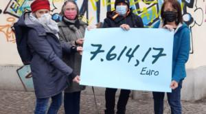 7.600 Euro für obdachlose Frauen