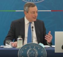Draghi sperrt auf
