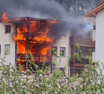 Wohnungsbrand in Salurn