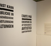 """Kunst kann"" auf Schloss Tirol"