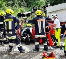Crash in Petersberg