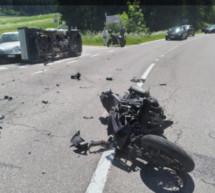 Tödlicher Crash an Kreuzung
